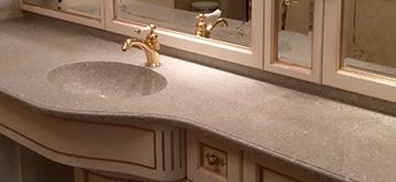 Столешницы для ванной на заказ